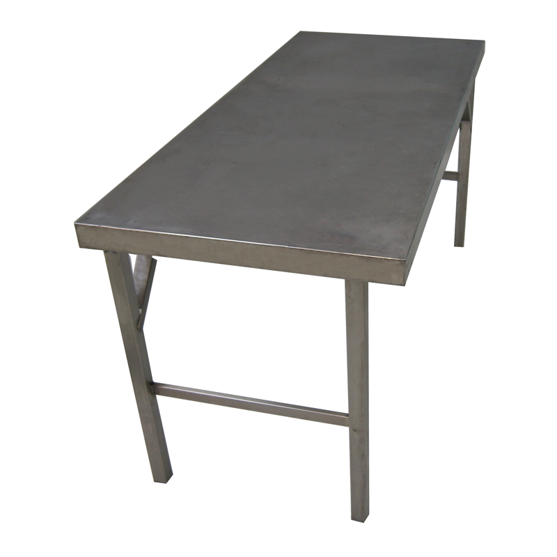 Edelstahltisch/Arbeitstisch CNS L160xB70xH85 cm (Bei verschmutzter Rückgabe berechnen wir pro 15 min /10,00 €)